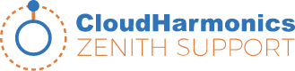 Cloud Harmonics Zenith Support logo